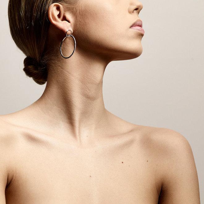 Boucles d'oreilles cristal Pilgrim Feu
