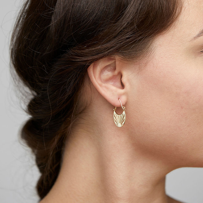 Boucles d'oreilles Pilgrim Feu