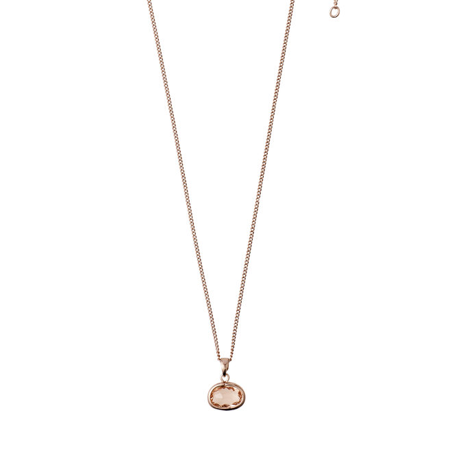 Pilgrim Glass Stone Necklace