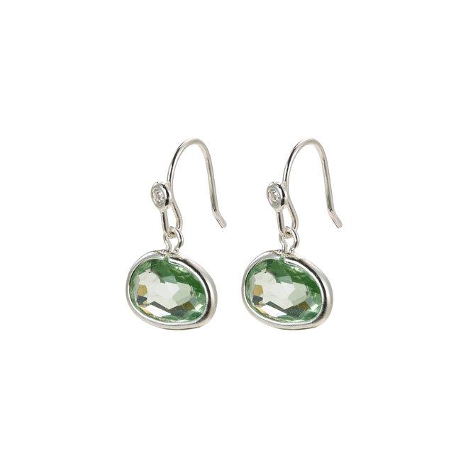 Pilgrim Glass Stone Earrings