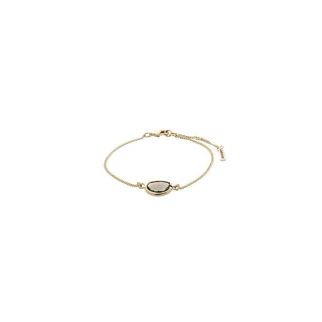 Pilgrim Glass Stone Bracelet
