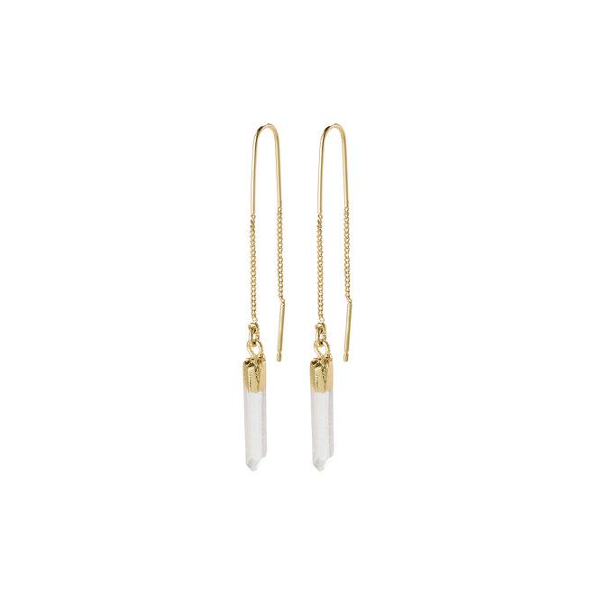 Pilgrim Crystal Drop Earrings