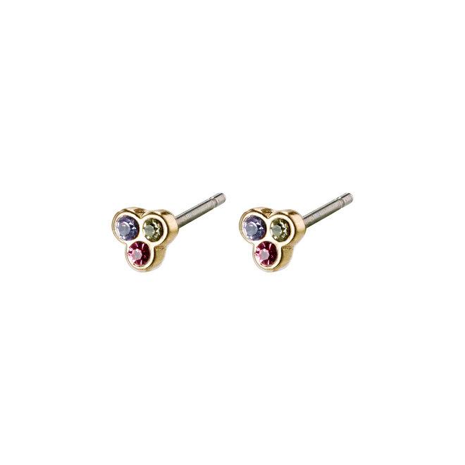 Petites boucles d'oreilles cristal Pilgrim Caily