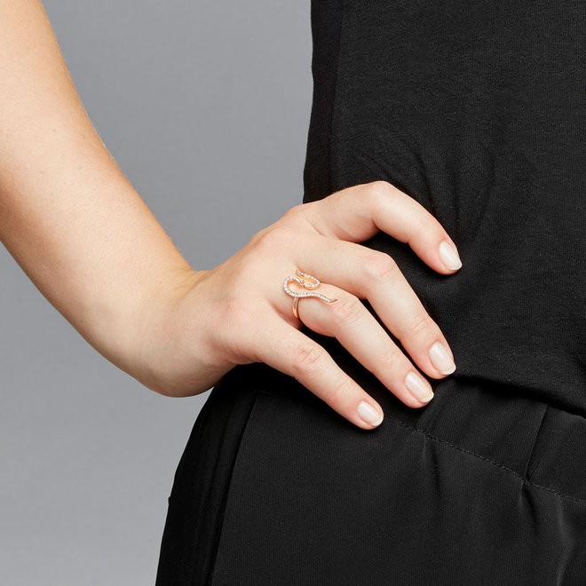 Pilgrim Beauty Crystal Ring