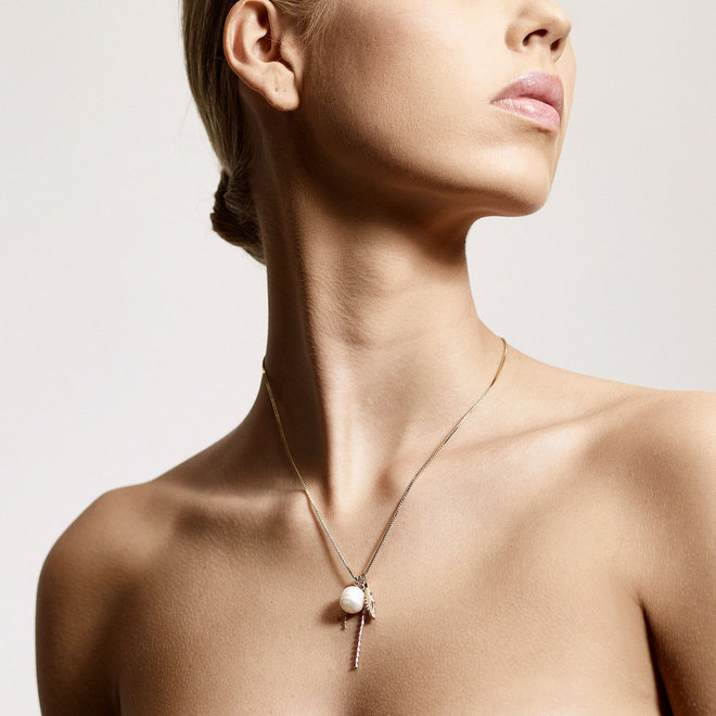 Pilgrim By the Sea Pearl Necklace