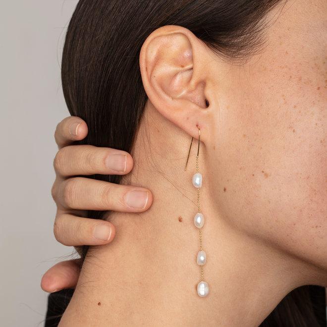 Pilgrim Rán Statement Earrings