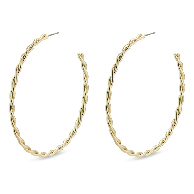 Pilgrim Naja Large Twist Hoops