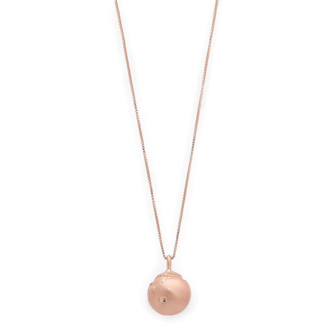 Pilgrim Berta Globe Necklace