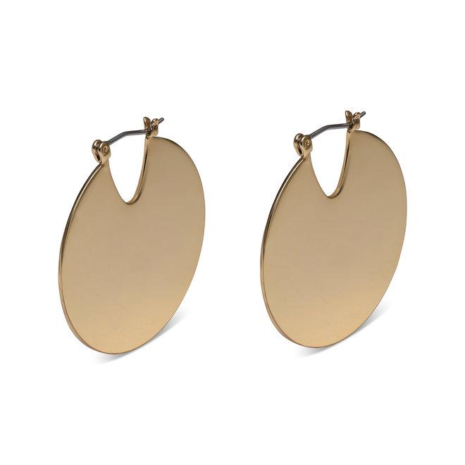 Pilgrim Meghan Shiny Disc Earrings