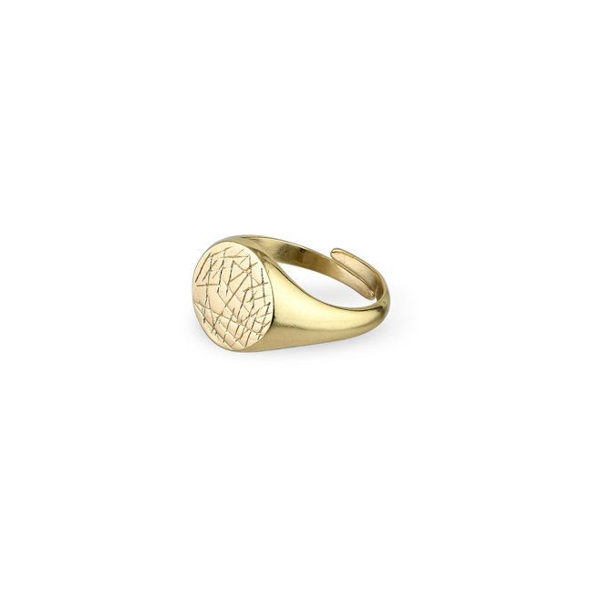 Pilgrim Verdandi Signet Ring