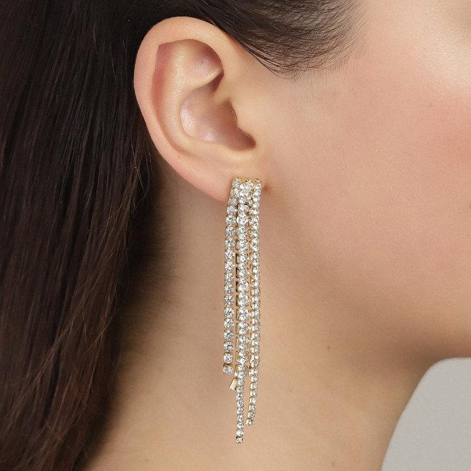 Boucles d'oreilles cristal Pilgrim Rachel