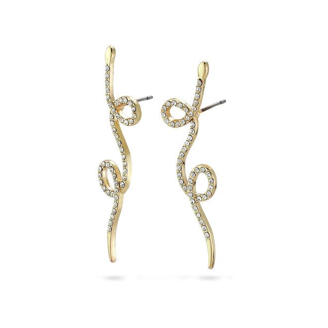 Pilgrim Ebba Crystal Earrings