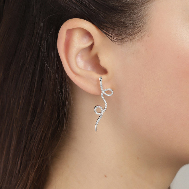 Boucles d'oreille cristal Pilgrim Ebba