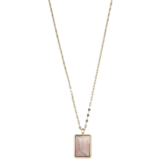 Pilgrim Verdandi Stone Necklace