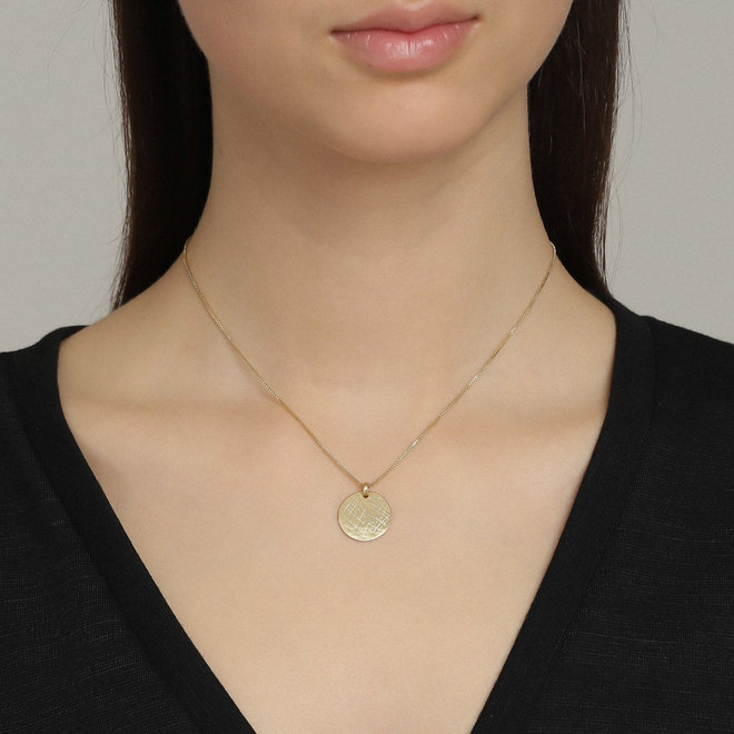 Pilgrim Verdandi Coin Necklace