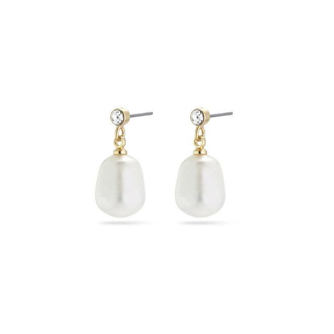 Boucles d'oreilles de perle Urd