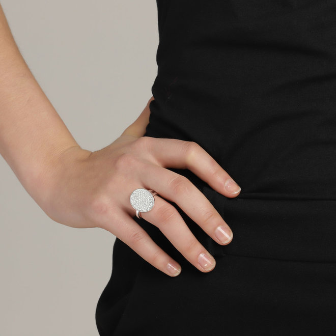 Pilgrim Urd Crystal Ring
