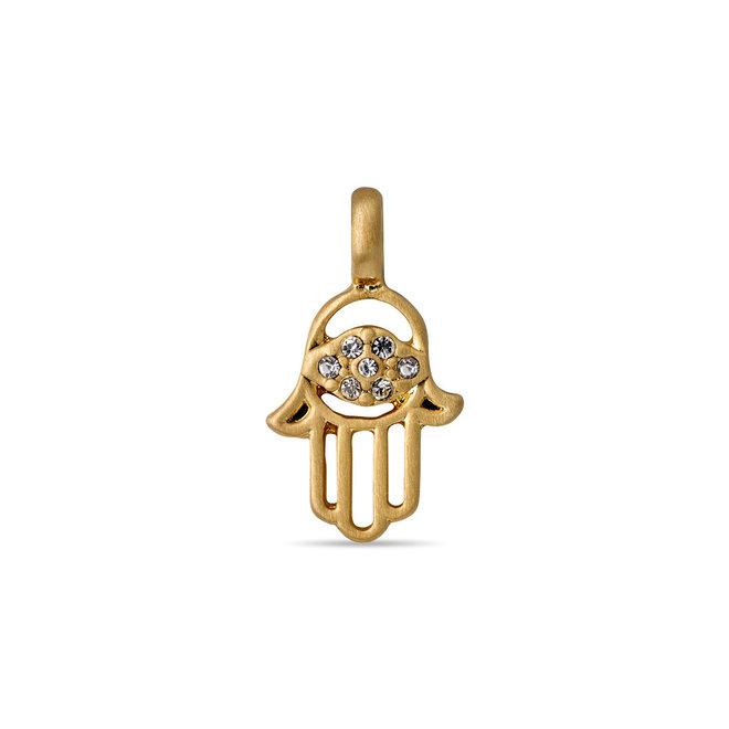 Pilgrim Charm Crystal Hand Pendant