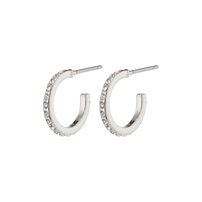 Pilgrim Preciosa Crystal Mini Hoops