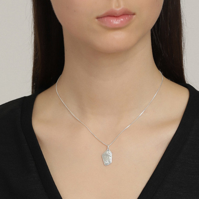 Pilgrim Skuld Crystal Necklace