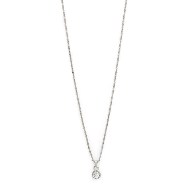 Pilgrim Lia Delicate Crystal Necklace