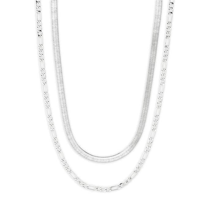 Pilgrim Yggdrasil 2-in-1 Necklace Set