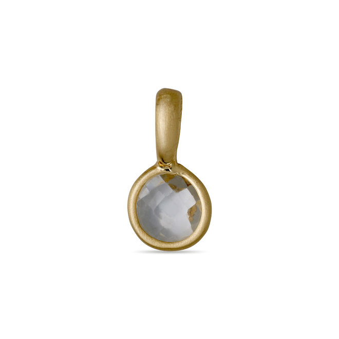 Pilgrim Pendant Charms Birthstone Gold Plated