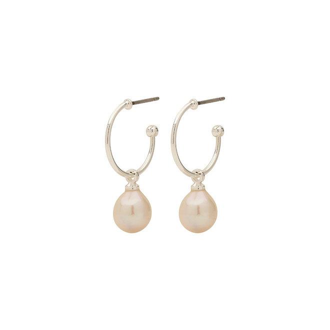 Boucles d'oreilles de perle Pilgrim Eila