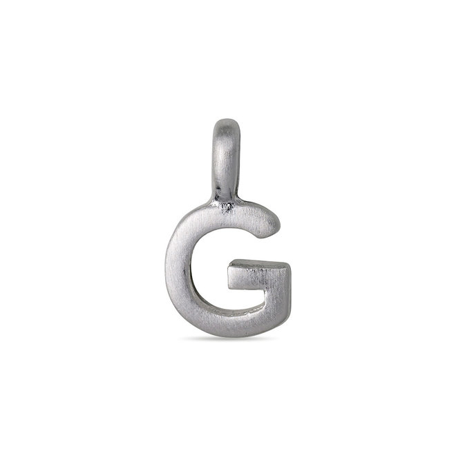 Pilgrim Pendant small Letter silver plated
