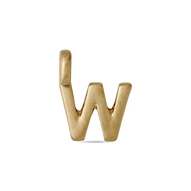 Pendentif petite lettre Pilgrim Pendant plaqué or
