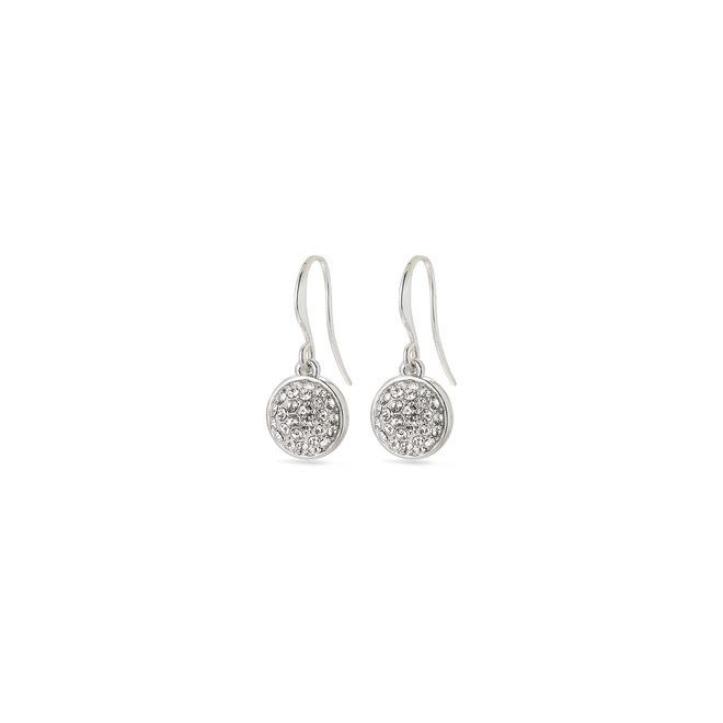 Pilgrim Heather Crystal Earrings