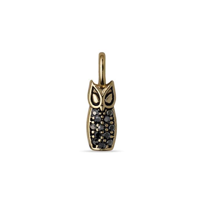 Pilgrim Charm Owl Pendant