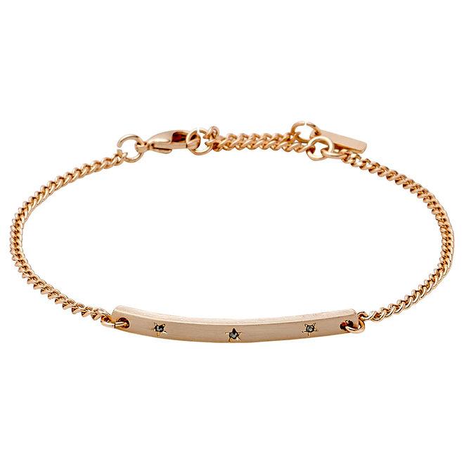 Pilgrim Crystal Star Bracelet