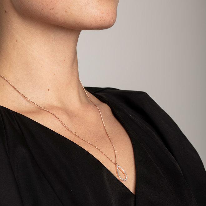 Pilgrim Delia Crystal Necklace