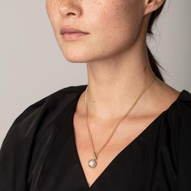 Pilgrim Heather Crystal 2-in-1 Necklace