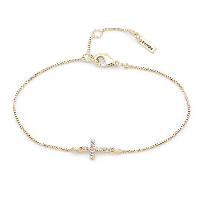 Pilgrim Clara Cross Bracelet