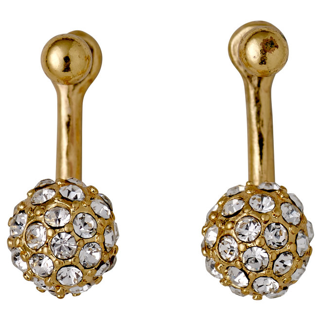 Pilgrim Amalia Crystal 2-in-1 Earrings