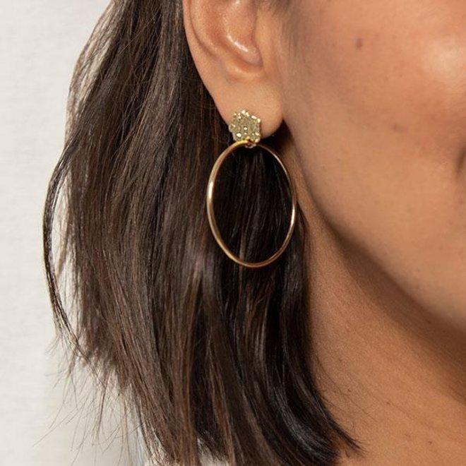 Boucles d'oreilles Pilgrim sentiment de L.A.