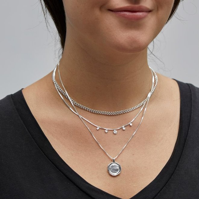 Pilgrim 2-in-1 Necklace Set Air