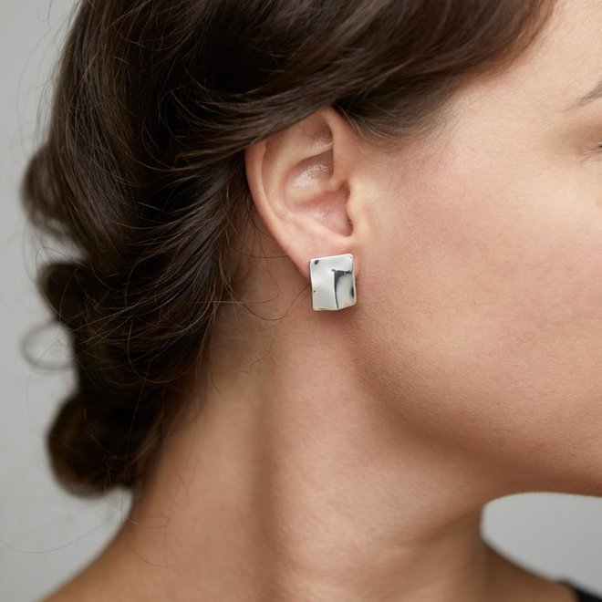 Pilgrim Water Element Stud Earrings