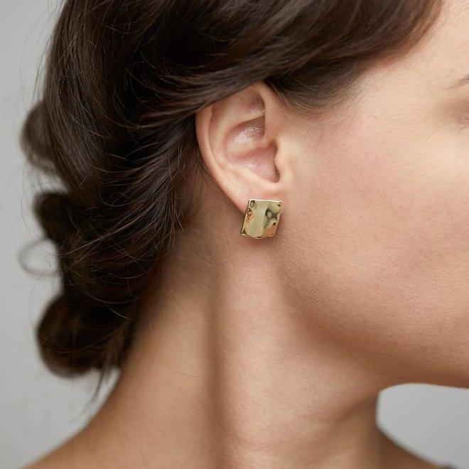 Petites boucles d'oreilles Pilgrim Eau