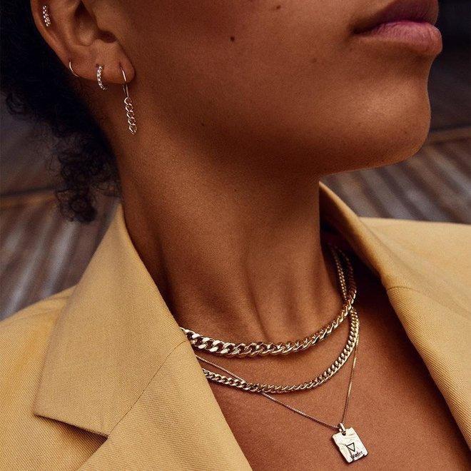 Pilgrim Water Element Necklace