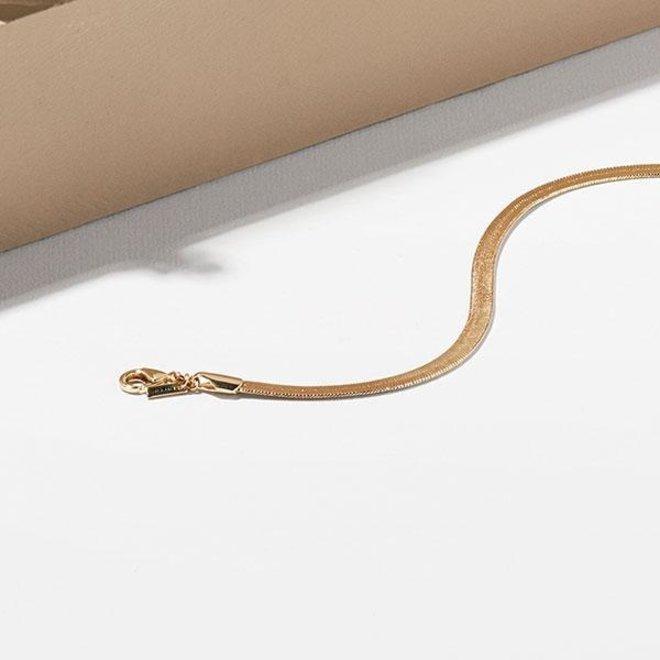 Collier en chaîne Pilgrim Serpent