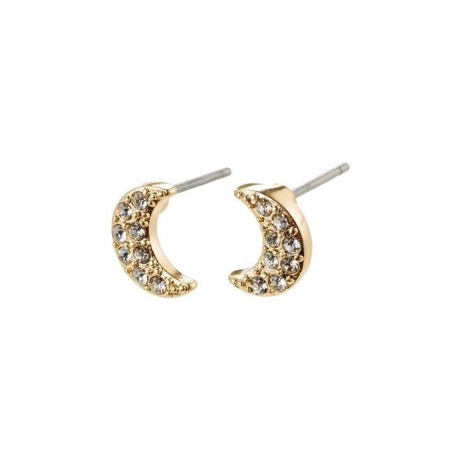 Petites boucles d'oreilles Pilgrim Lune de crystal