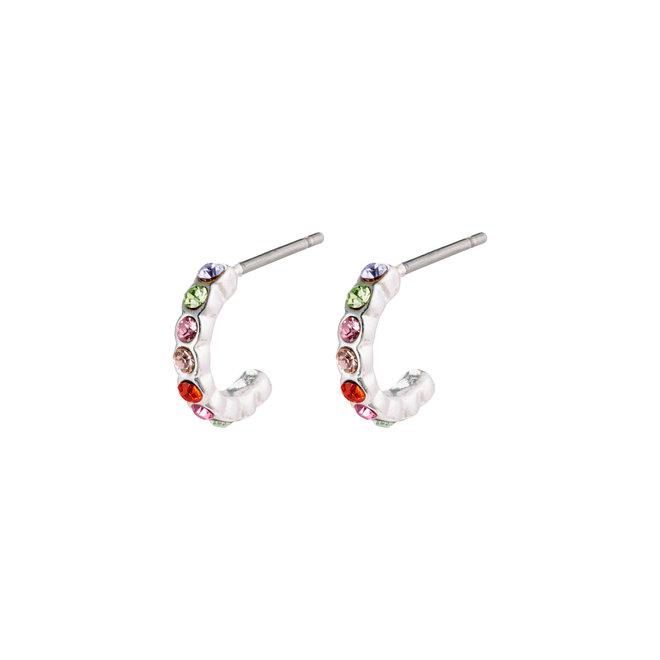 Mini anneaux de cristal Pilgrim Brigitte