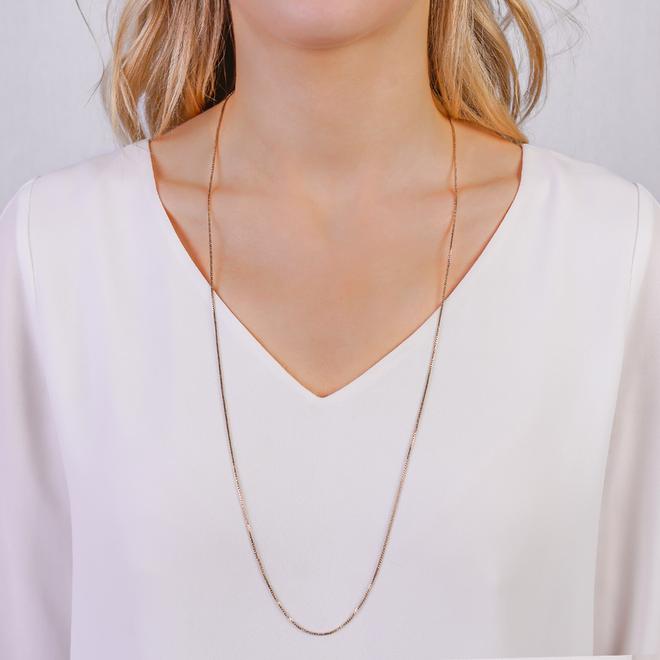 Pilgrim Nancy Classic Chain Necklace 80 cm