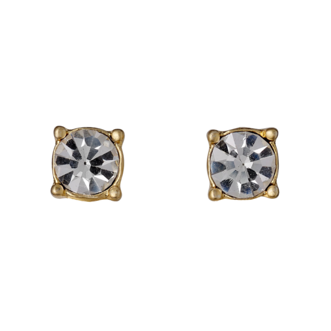 Pilgrim Classic Crystal Stud Earrings