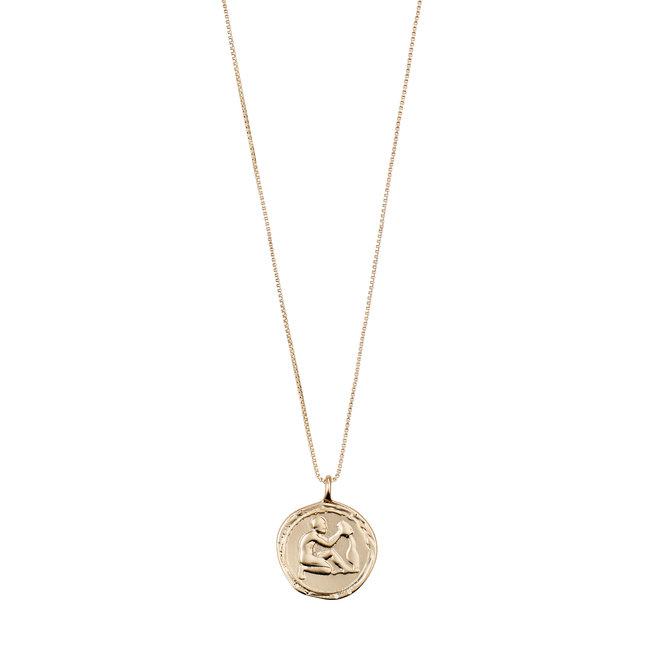 Pilgrim Horoscope Necklace Aquarius