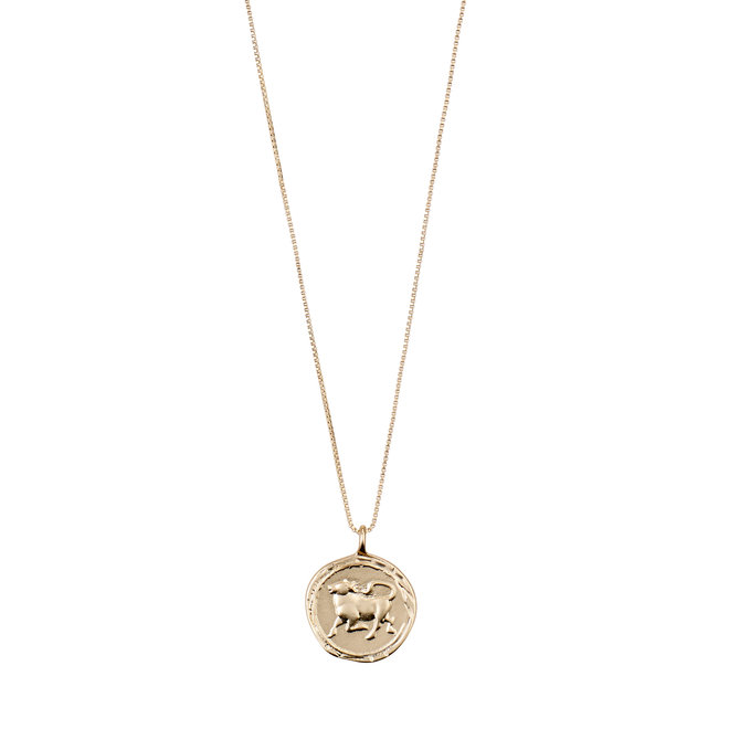 Pilgrim Horoscope Necklace Taurus