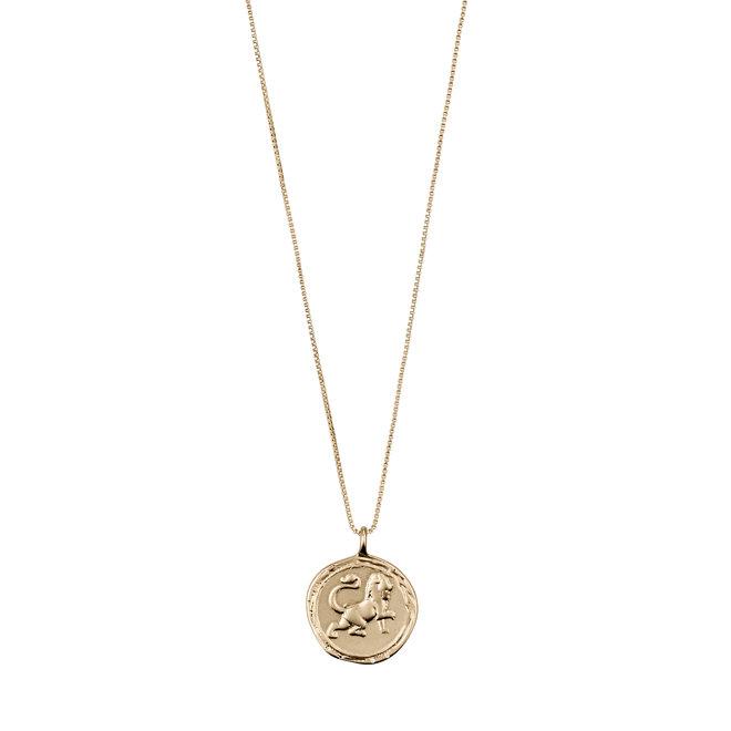 Pilgrim Horoscope Necklace Leo